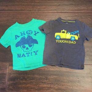 Boys 18 month T-shirt's